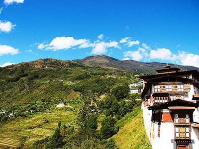 East West Bhutan Tour  » Click to zoom ->
